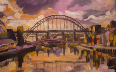 "Auction success for ""The Tyne at 90"""