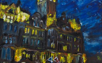 """Featured work: """"Midnight at the Balmoral"""""""