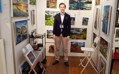 Success at the Glasgow Contemporary Art Fair 2018