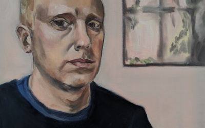 All rise! Painting Judge Robert Rinder