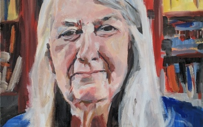 Painting Mary Beard – the final portrait